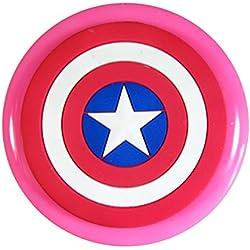 Capitán América Escudo Molde de silicona para la torta de Decoración Pastel de Cupcake Toppers Glaseado Sugarcraft Tool por Fairie Blessings