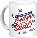 Breaking Bad - Heisenberg Call Saul Vamonos Pest A1A Carwash - CHOICE OF 4 - 11oz Mug (BETTER CALL SAUL)