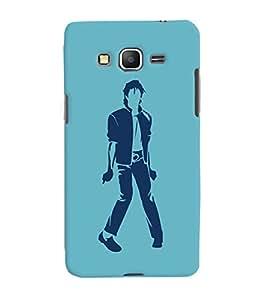 ColourCrust Samsung Galaxy Grand Prime Mobile Phone Back Cover With Michael Jackson - Durable Matte Finish Hard Plastic Slim Case