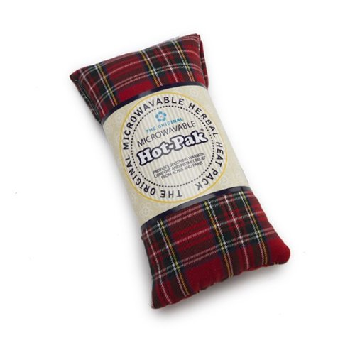 Intelex Microwaveable TARTAN Hot Pak: Award Winning Lavender Wheat Bag Cushion