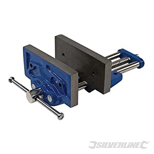 Silverline 138785 – Tornillo para banco de carpintero 3,5 kg (150 mm)