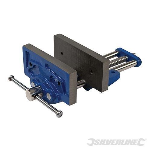 Silverline 138785 Schreinerei-Schraubstock, 3,5 kg 150 mm