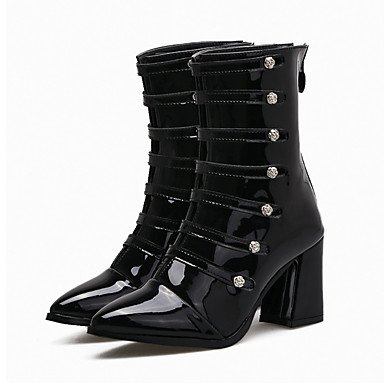 Women's Boots Basic Pump Comfort Novelty Spring Fall Winter Leatherette Wedding Casual...