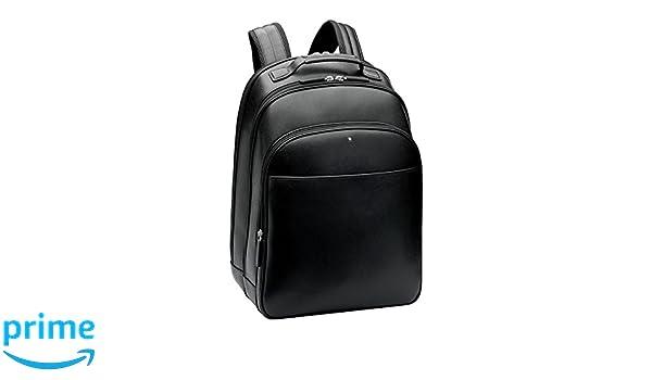 b0c2118825b87 Montblanc 114586 Sartorial Business Rucksack Groß 46 cm schwarz  Amazon.de   Bürobedarf   Schreibwaren