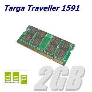 DSP Memory 2GB Speicher/RAM für Targa Traveller 1591 - Targa Speicher
