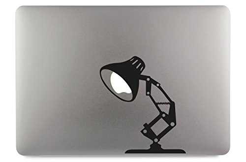 Lampe Lamp Tischlampe Apple MacBook Air Pro Aufkleber Skin Decal Sticker Vinyl (13