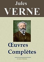 Jules Verne : Oeuvres complètes entièrement illustrées (160 titres et 5400 gravures)