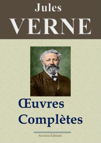 Jules Verne : Oeuvres complètes entièrement illustrées (160 titres et 5400 gravures) par Jules Verne