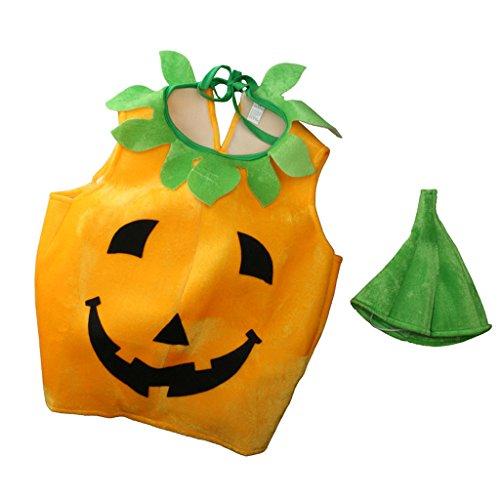 Imagen de magideal traje de disfraces de calabaza de niños vestido de frutas para fiesta de halloween cosplay show
