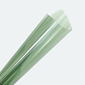 [Hoho] Vert avant Films de teinté solaire Auto Voiture film Home Membrane 152*50cm (152,4x 50,8cm)