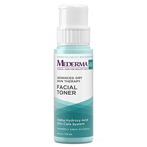 Mederma AG Facial Toner - with glycolic acid to cleanse pores for a smooth, healthy complexion - eucalyptus for a cooling effect - dermatologist recommended brand - fragrance-free - 6 ounce -