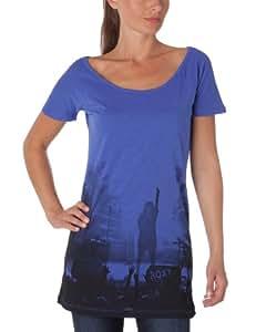 Roxy Damen T-Shirt T-Shirt Large Blau - Chelsea Blue