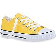 0a8d5fca74f73f Stiefelparadies Unisex Damen Herren Sneaker Low Übergrößen Flandell