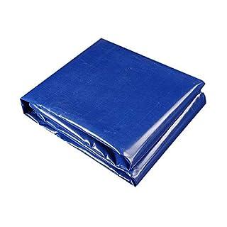 YFCLA Bâche de Protection à œillets Revêtement en résine PVC tissé Haute densité résistante aux UV,400 g/m²,Thickness 0.35MM, et Lavable,8X10