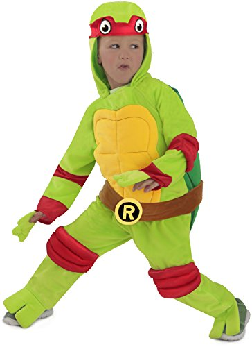Ninja Turtles Raphael One-Piece Jumpsuit (Kind X-Small) (Teenage Mutant Ninja Turtles Raphael Jumpsuit)