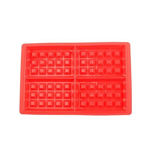 Provide The Best Platz DIY Silikon-Kuchen-Form-Waffeln Kuchen-Schokoladen-Pan-Backen-Form Werkzeuge - Silikon-form Waffel
