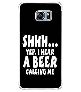 PrintVisa Designer Back Case Cover for Samsung Galaxy Note 5 :: Samsung Galaxy Note 5 N920G :: Samsung Galaxy Note5 N920T N920A N920I (Here Beer Calling Quote )