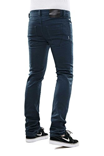 Reell Skin Stretch Jeans Navy Blue