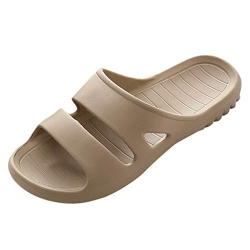 andalen Zuhause Boden Familie Schuhe Dusche Sandalen Männer Rutschfeste Hausschuhe Sandelholze und Hefterzufuhren ()