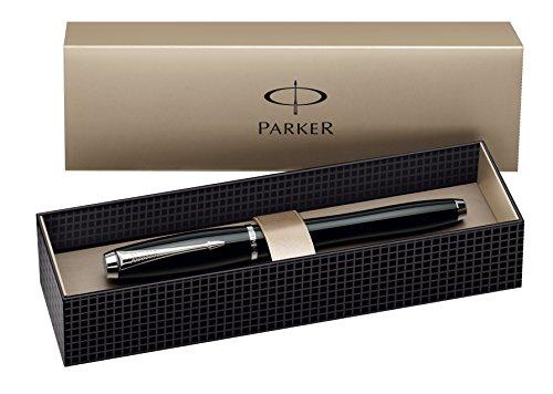 Parker S0850490 Tintenroller Urban London Cab C.C, Strichbreite F, schreibfarbe schwarz