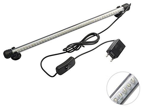 Barra led per acquario impermeabile lampada da immersione luce bianca illuminazione per acquari waterproof lunghezza 40 cm B3