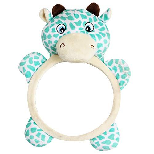 Guoyy Baby Retrovisor Auto asiento trasero Bebé Easy View Espejo ajustable útil Cute Infant Monitor...