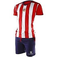 FUTBOL Pijama Atlético de Madrid Adulto Verano - L