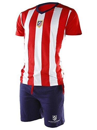 Pijama Atlético de Madrid adulto verano - L