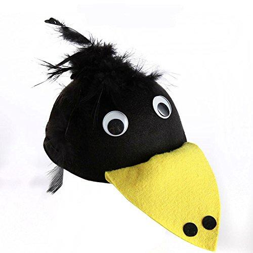 Leicht und einfach zu Tragen Kinder Tag Leistung Kleidung Zubehör Cartoon Tier Hut (Specht) - Leichte Kleidung Tragen
