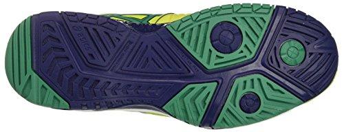 Asics Gel-Resolution 6, Scarpe da Ginnastica Uomo Multicolore (Lime/Pine/Indigo Blue)