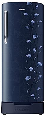 Samsung 192 L 3 Star Direct Cool Refrigerator (RR19M1823UZ/RR19M2823UZ , Tender Lily Blue)