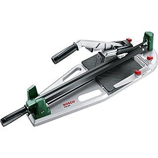 Bosch Fliesenschneider PTC 470, Karton (Max. Schnittlänge 470 mm, max. Fliesenstärke 12 mm, Winkelanschlag 0-45°)
