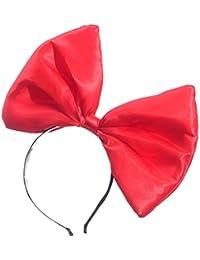 787408c6a005 Lunji Serre-tête Noeud Papillon Oreille de Chat Femme Fille Noël Halloween