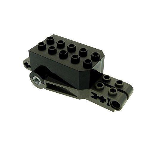 Technic Technik Pull Back Motor AufziehMotor schwarz grau Motorrad Lego A70 (Back Lego Motor Pull)