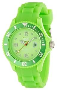 ICE-Watch - Montre Mixte - Quartz Analogique - Ice-Forever - Green - Small - Cadran Vert - Bracelet Silicone Vert - SI.GN.S.S.09