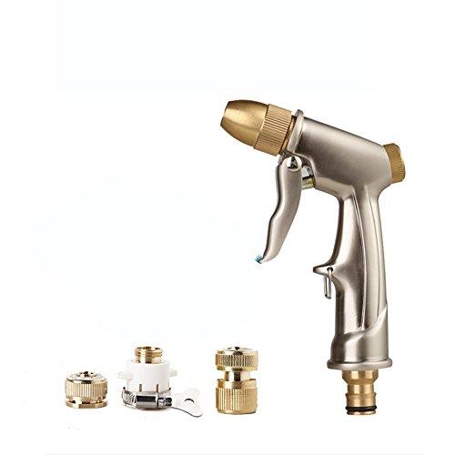 telescopico Pistola ad Acqua per Auto di Lavaggio Pistola ad Acqua ad Alta Pressione per Pistola a spruzzo d'Acqua per Auto Casa Spazzola Portatile Spazzola per Auto Quattro Stagioni Comu