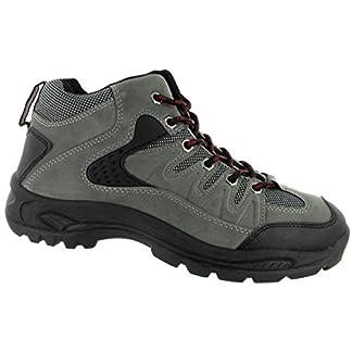 DEK ONTARIO Mens Lace Up Trail Trek Mid Ankle Boots Black 3
