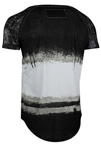 trueprodigy Casual Herren Marken T-Shirt mit Aufdruck, Oberteil cool und stylisch mit Rundhals (kurzarm & Slim Fit), Shirt für Männer bedruckt Farbe: Schwarz 1072114-2999 Black