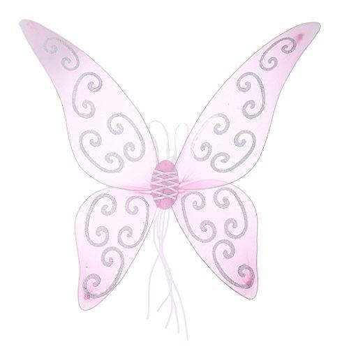 (F Fityle Schmetterlingsflügel - Rosa)