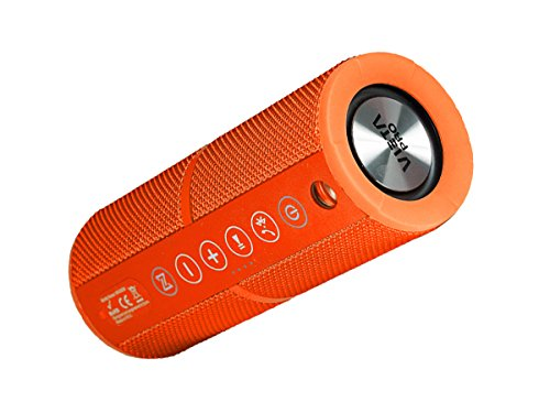Vieta VM-BS39OR - Altavoz inalámbrico portátil con Bluetooth, color naranja