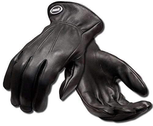 Ansell Projex 97-978 Gants pour usages multiples, protection mécanique, Noir, Taille 8 (Sachet de 1 paire)