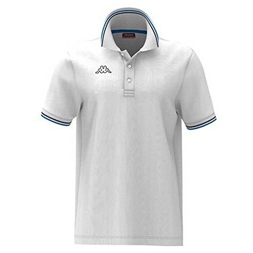 Polo Shirts - Polo Maltax 5 Mss - White-Blue-Blue Navy - M