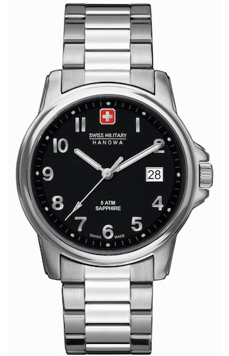 Swiss Military Hanowa Herren-Armbanduhr Analog Quarz 06-5231.04.007