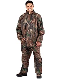 Hombre ProClimate Camuflaje Impermeable Traje Con Capucha Caza Chaqueta Y Pantalones