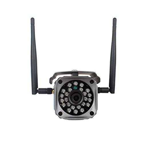 IP Kamera, 720P HD WiFi Überwachungskamera Wlan mit Infrarot Nachtsicht, Zwei-Wege-Audio, Remote...
