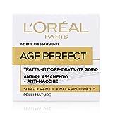 L'oreal age perfect - crema viso re-idratante giorno - 50 ml
