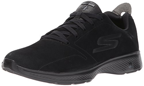 Skechers Herren Go Walk 4 Laufschuhe, Schwarz (Black), 40 EU (Skechers Größe 5 Jungen Schuhe)