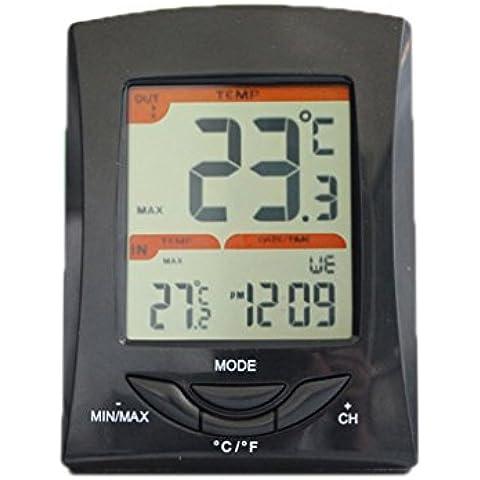QHGstore Misurazione senza fili termometro esterno dell'interno