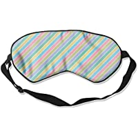 Background Stripes 99% Eyeshade Blinders Sleeping Eye Patch Eye Mask Blindfold For Travel Insomnia Meditation preisvergleich bei billige-tabletten.eu