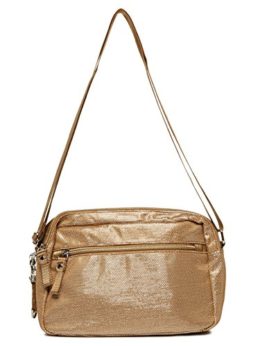 George Gina & Lucy Lunch Date Borsa a tracolla 27 cm silver sand